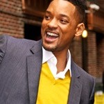 Will Smith approached by a Man for a KISS