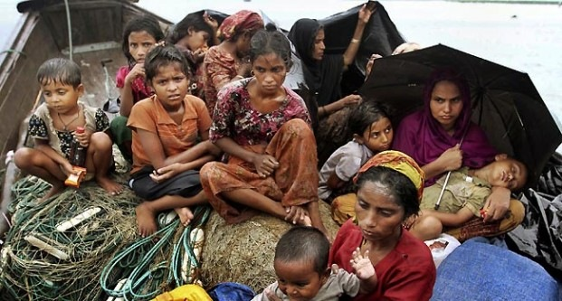 Rohingya Refugees of Myanmar during 2012 massacre