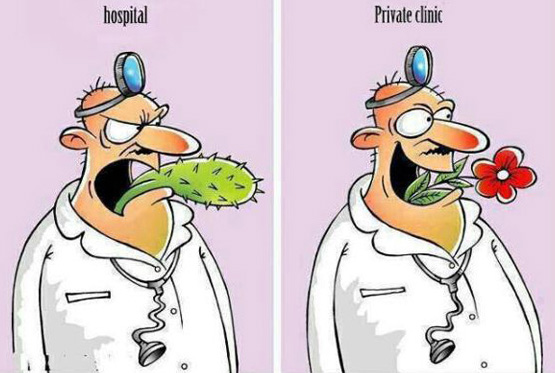 Doctors at Private Clinics