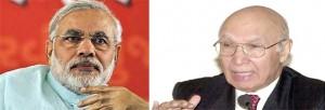 Narendra Modi & Sartaj Aziz