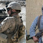 Nato Forces v.s Taliban Fighters