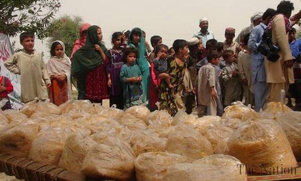IDPs camp