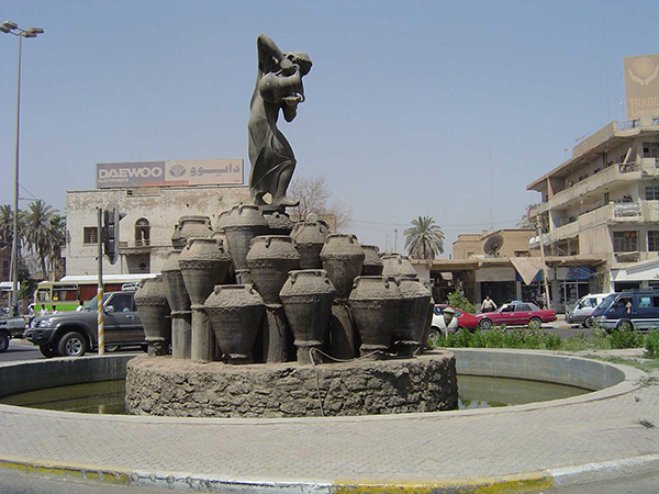 Fountain of the Forty Vases - Baghdad, Iraq