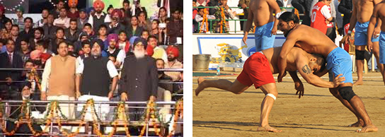 Opening Ceremony of 5th Kabaddi World Cup 2014