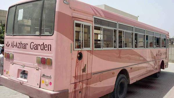 Attack on bus of Ismaili community killing 46 men & women