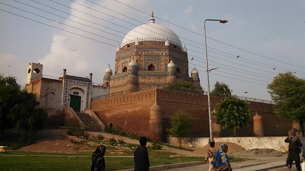 Baha-ud-din Zakria Tomb at Multan Fort