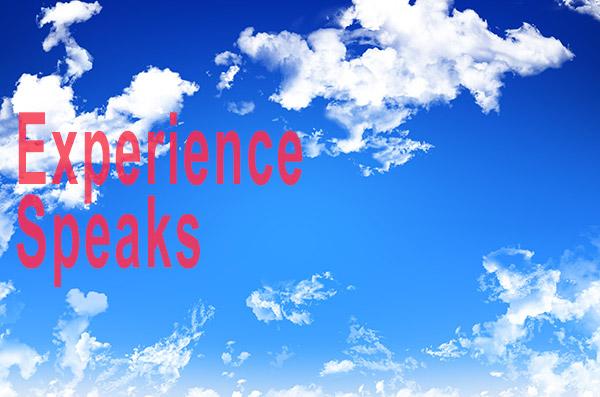 Experience-Speaks