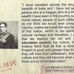 Lord Macaulay