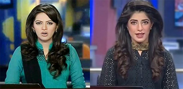Pakistani-news-casters