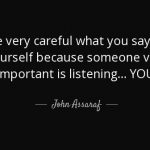 You Are Very Important